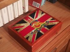 The Royal Artillery, RA,With Union Jack flag Premium  Medals and Memorabilia box