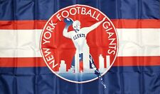 New listing New York Giants Nfl Retro Style Flag 3x5 ft Sports Blue Banner Man-Cave Garage