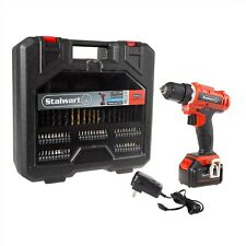 Professional 20V Cordless Drill Kit with Assorted Bits 70 Pc Set with Case