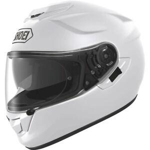 SHOEI GT AIR MOTORBIKE HELMET FULL FACE MOTORCYCLE LID WHITE EX DISPLAY