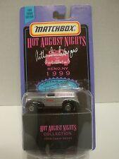 1999 Matchbox Hot August Nights 1939 Chevy Sedan 1of 9,999  1:64 Diecast  C9-15