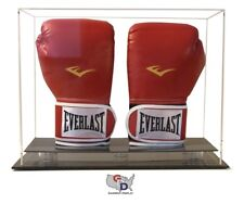 Double Vertical Boxing Glove Display Case Counter or Desk Top by GameDay Display