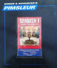 16 CD Pimsleur Learn Speak Conversational spanish Level 1/ONE Language 30 Lesson