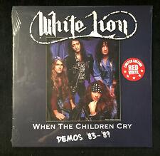 WHITE LION - When The Children Cry Demos 83-89 Red Vinyl LP