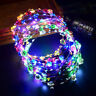 LED Club Party Concert Light Up Bright Flash Glowing Hairband Set Hair accessory