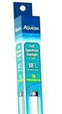 "AQUEON  T8  FULL SPECTRUM 18"" Bulb Natural Aquarium Light PLANT GROW"