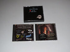 The Phantom Of The Opera / Andrew Lloyd Webber / Immortal Beloved (4 CD LOT)