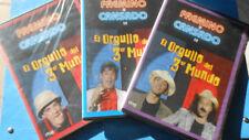 DVD FAEMINO Y CANSADO EL ORGULLO DEL 3er MUNDO DVD 2-3-4
