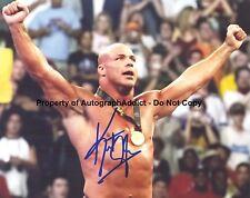 KURT ANGLE signed  8x10 photo - Olympic Gold Medal / WWF / WWE