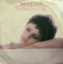 SHEENA EASTON For Your Eyes Only ORIG Dutch Issue PICTURE SLEEVE Vinyl Single