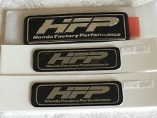 "HFP Black / Silver Decal Badge ""Honda Factory Performance""  OEM  sides and rear"