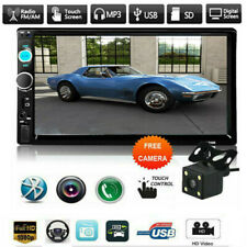 """New listing 2 Din 7.0"""" Car Stereo Radio Mp5 Fm Player Aux Smart Phone Mirror Linked Mp5"""