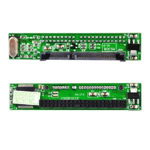 2.5 '' Female 44 Pin IDE to 7 + 15 Pin Male SATA Hard Drive Converter Adapter