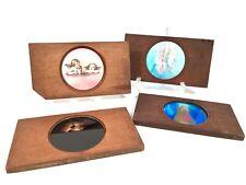 Antique Carpenter & Westley / T.H McAllister Magic Lantern Colour Slide Set