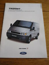 FORD Transit Cost of Ownership opuscolo JM