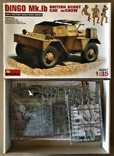 MINIART 35067 - DINGO Mk.1b BRITISH SCOUT CAR w/CREW - 1/35 PLASTIC KIT NUOVO