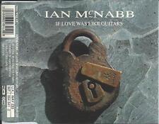 IAN McNABB - If love was like guitars CD SINGLE 3TR GERMANY 1992 Rock