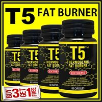 /T5 WEIGHT LOSS CAPSULES GARCINIA CAMBOGIA FAT BURNER PILLS STRONGEST 100% LEGAL