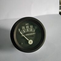 Oil Pressure Gauge For Ford/New Holland Tractors FDOI01b With Black Bezel