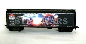 HO Scale Custom Lettered PEPSI COLA STAR WARS Freight car Reefer Lot 88032.