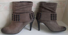 KENNEL & SCHMENGER Germany Grey Ankle Boots Size UK 3.5 EU 36 US 5.5-6 RRP £255
