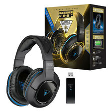 Turtle Beach Ear Force Stealth 500P Wireless DTS Gaming Headset PS4 PS3 - In Box