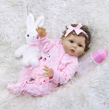48CM bebe Doll Reborn Full Body Soft Silicone Vinyl Toy Birthday Christmas Gift
