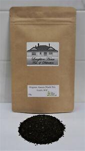 Laughton House  - Organic Black Assam Tea - 50g - Grade: BOP
