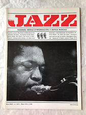 RIVISTA MUSICA JAZZ N.3 (337) 1976 JOHN COLTRANE JELLY ROLL MORTON CHET BAKER