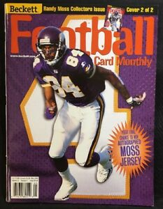 Beckett Football Card Monthly Magazine Randy Moss Cover May 1999 Cover2
