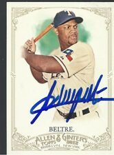 Texas Rangers ADRIAN BELTRE Signed 2012 Ginter Card
