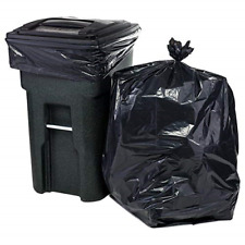 96 Gallon Wheeled Trash Can Lid Garbage Container Outdoor Waste Bin 25 Count