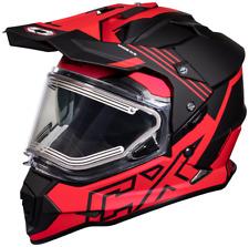 Castle X Mode DS SV Agent Electric Snowmobile Helmet Matte Red