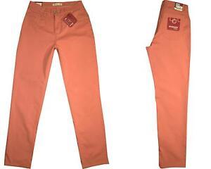 ✅Stooker Nizza Damen Stretch Jeans Hose  Peach Flamingo