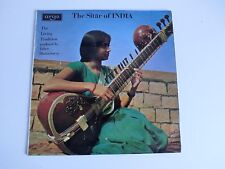 The Sitar Of India  Deben Bhattacharya  1971 Argo ZFB 48 UK LP