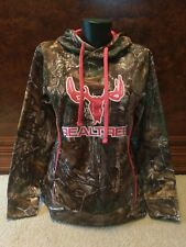 NWT Realtree Ladies Camo/Pink Hoodie, Size Small