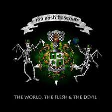MR.IRISH BASTARD -THE WORLD,THE FLESH & THE DEVIL-GREEN VINYL LP + DOWNLOAD NEW+