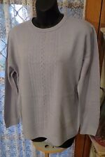 VINTAGE 80'S ~ DAMART ~ Mauve JUMPER * Size M * REDUCED !!