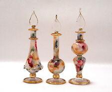 Egyptian Perfume Bottles -Beautiful Gift Set -Under $15.00 -Blown Glass 7-622-68