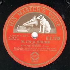 Richard Crooks: The Star of Betlehem / The holy city      HMV 78 rpm