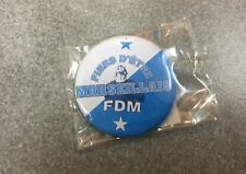 BADGE OFFICIEL BROCHE FOOT FOOTBALL SUPPORTERS CLUB LIGUE 1 OM MARSEILLE N°3