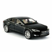 1/32 Tesla Model S 100D Model Car Diecast Toy Vehicle Collection Kids Gift Black