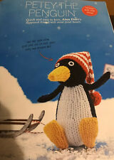 Alan Dart Petey The Penguin Knitting Pattern Simply Knitting