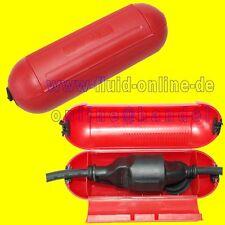 ProPlus Sicherheitsbox ROT für SCHUKO Stecker Kabelbox für Garten Camping NEU
