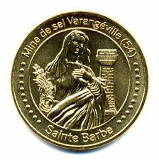 54 VARANGEVILLE Mine de sel, Sainte-Barbe, 2021, Monnaie de Paris