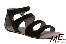 New Tsubo Barbra Leather Women Sandals Size 8.5 - 1007195 bkry