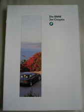 BMW 3 Series Coupe brochure 1995 Ed 1 German text