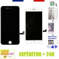 ÉCRAN LCD ORIGINE NOIR / BLANC + OUTILS POUR IPHONE 8 7 6 6S PLUS SE 5S 5 4S 4