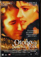 OTOÑO EN NUEVA YORK de Joan Chen con Richard Gere, Winona Ryder