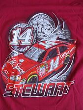 Tony Stewart #14 Old Spice Red Shirt NASCAR Medium M NEW